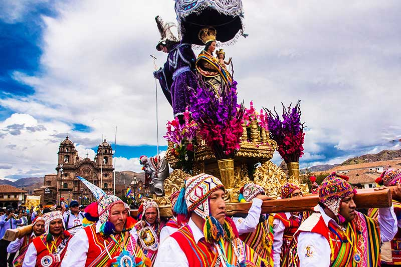 Festivities of Cusco 2018: main activities per day