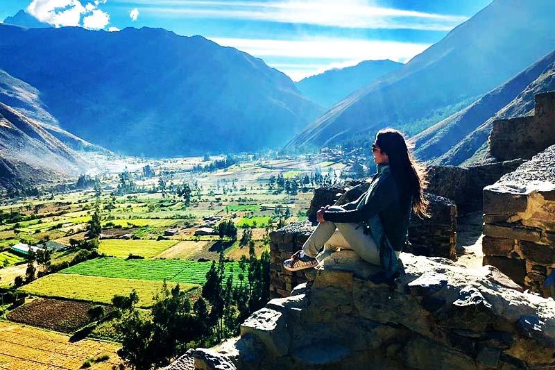 Vista del Valle Sagrado de los incas