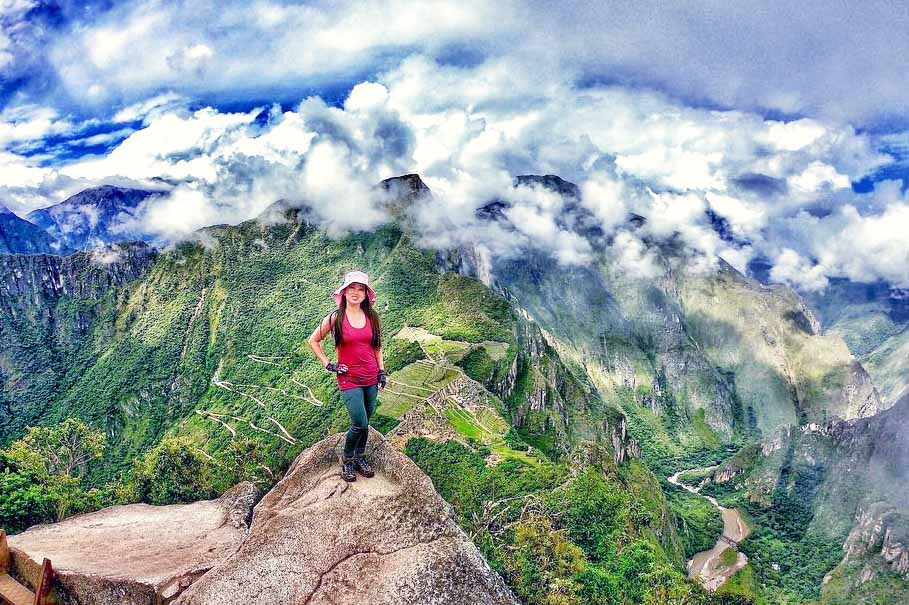 On top of Waynapicchu mountain