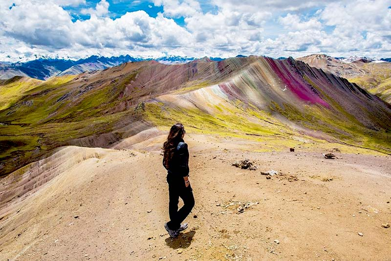 Mountain of colors of Palcoyo