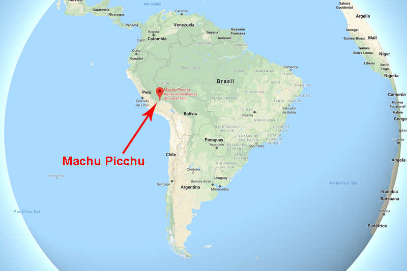 Buenos Aires Location On World Map.Maps Of Machu Picchu Location Routes And More