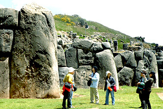 Tourists in Cusco photos