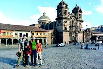 Tourist Cusco