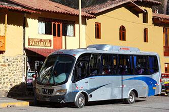 Bus a Ollantaytambo