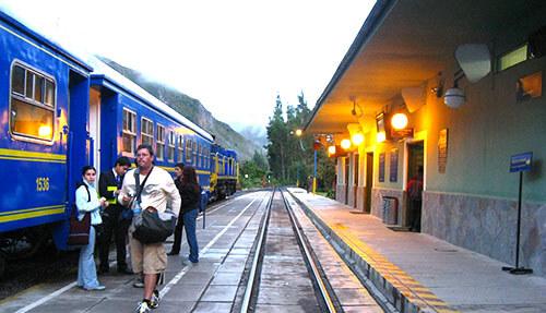 Stazione di Ollantaytambo