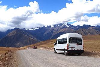 Transport Poroy und Ollantaytambo