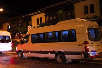 Ollantaytambo Transports