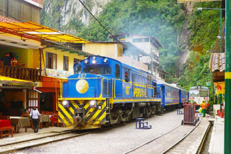 Aguas Calientes Station