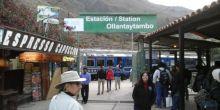 Estación de tren Ollantaytambo – Machu Picchu