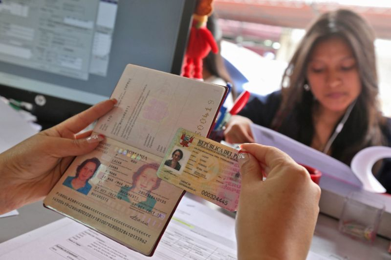 Documents de ticket Machu Picchu