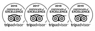 Certificate Tripadvisor 2016-2019