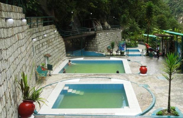 Piscinas en Aguas Calientes