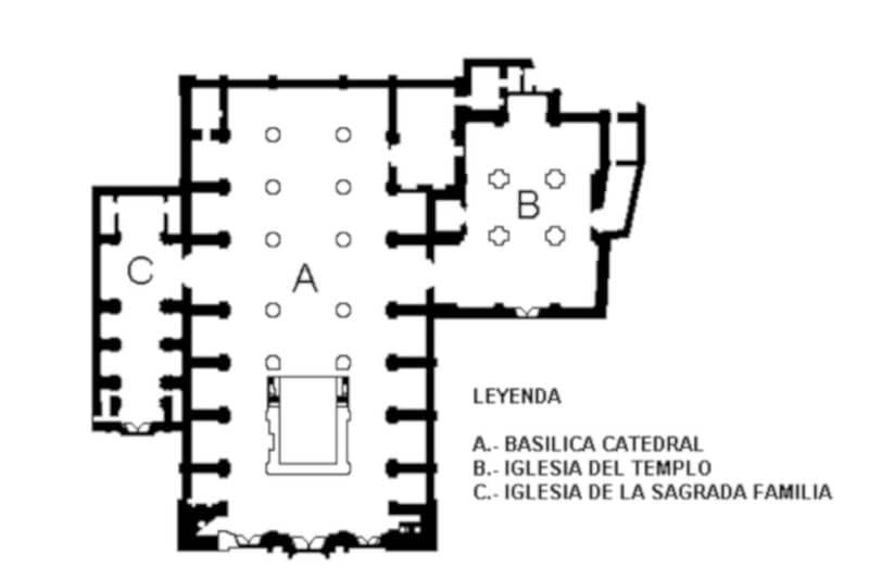 Mapa interior Catedral
