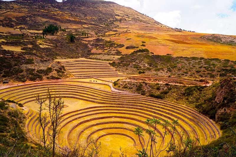 Terrazas agrícolas de Moray