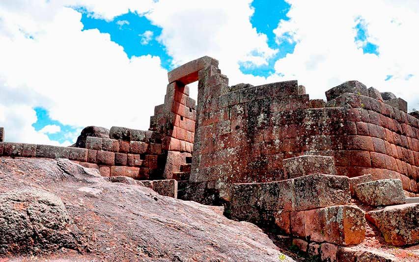 Templo inca en Pisac