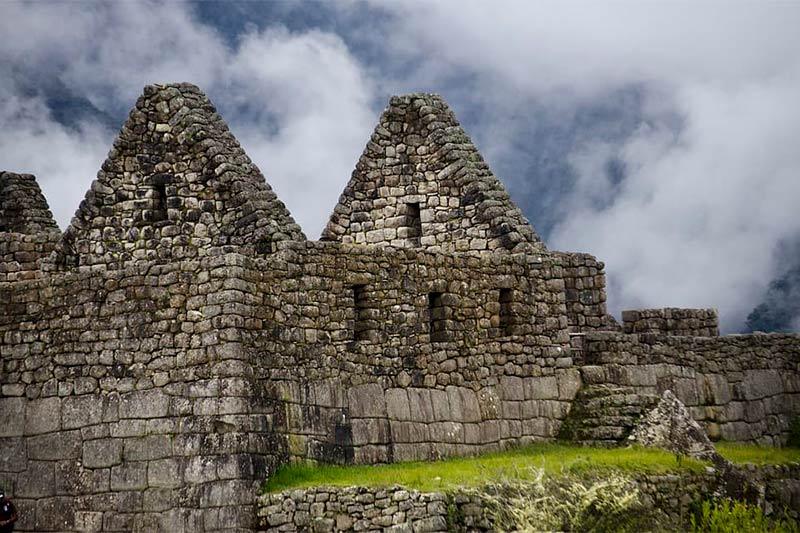 Construccinoes de Machu Picchu
