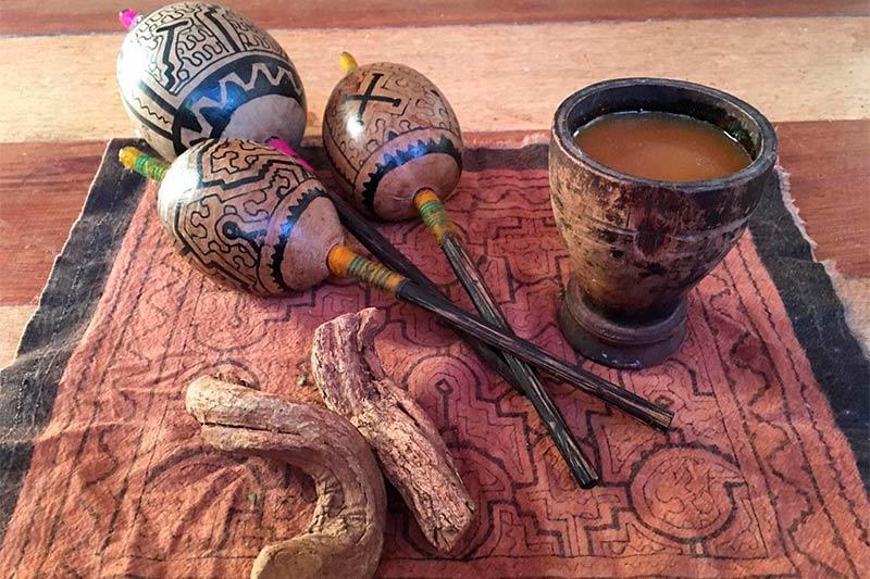 Instrumentos de medicina inca