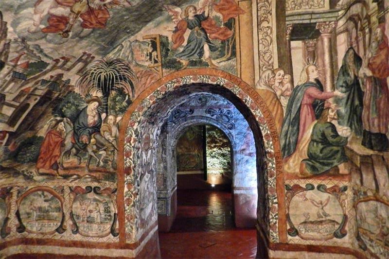 Pintura mural Padre Salamanca