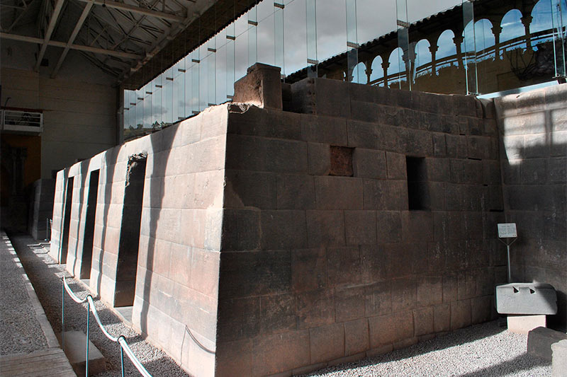 Templos interior del Qoricancha