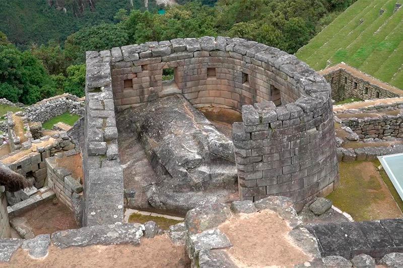 Templo del Sol en Machu Picchu