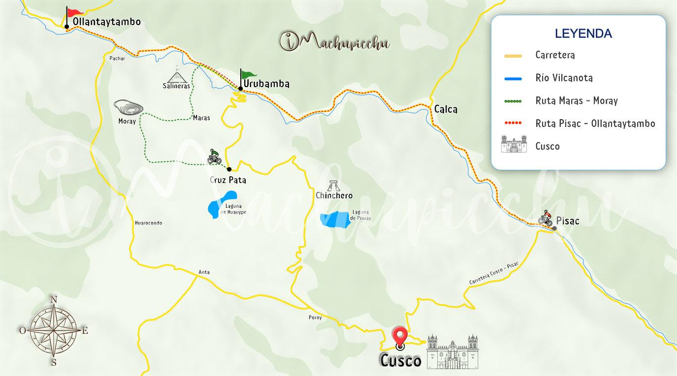 Mapa para llegar a Oropesa