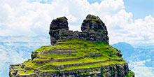 Waqrapukara, la fortaleza inca en forma de cuerno