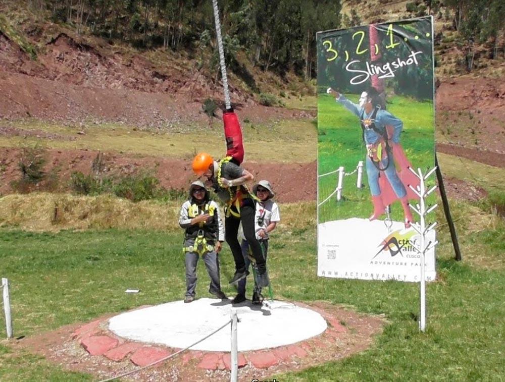 Bungee jumping en Cusco
