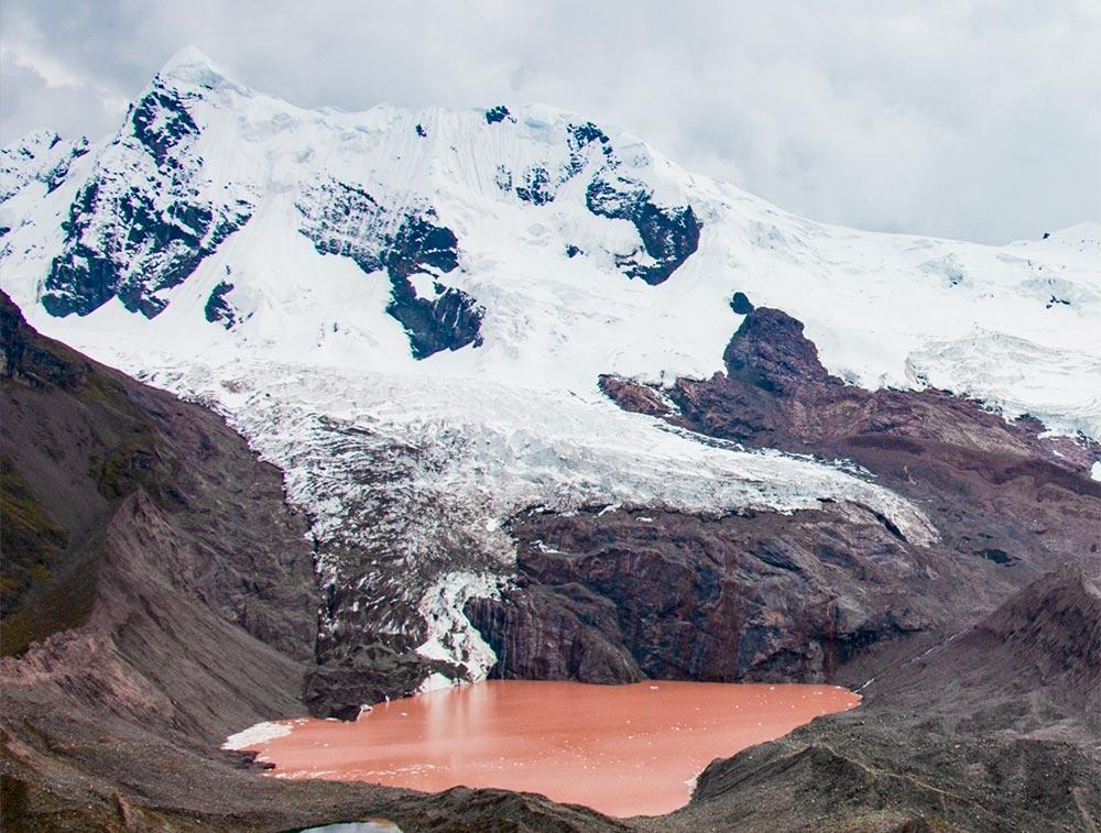 Laguna roja - Ausangate