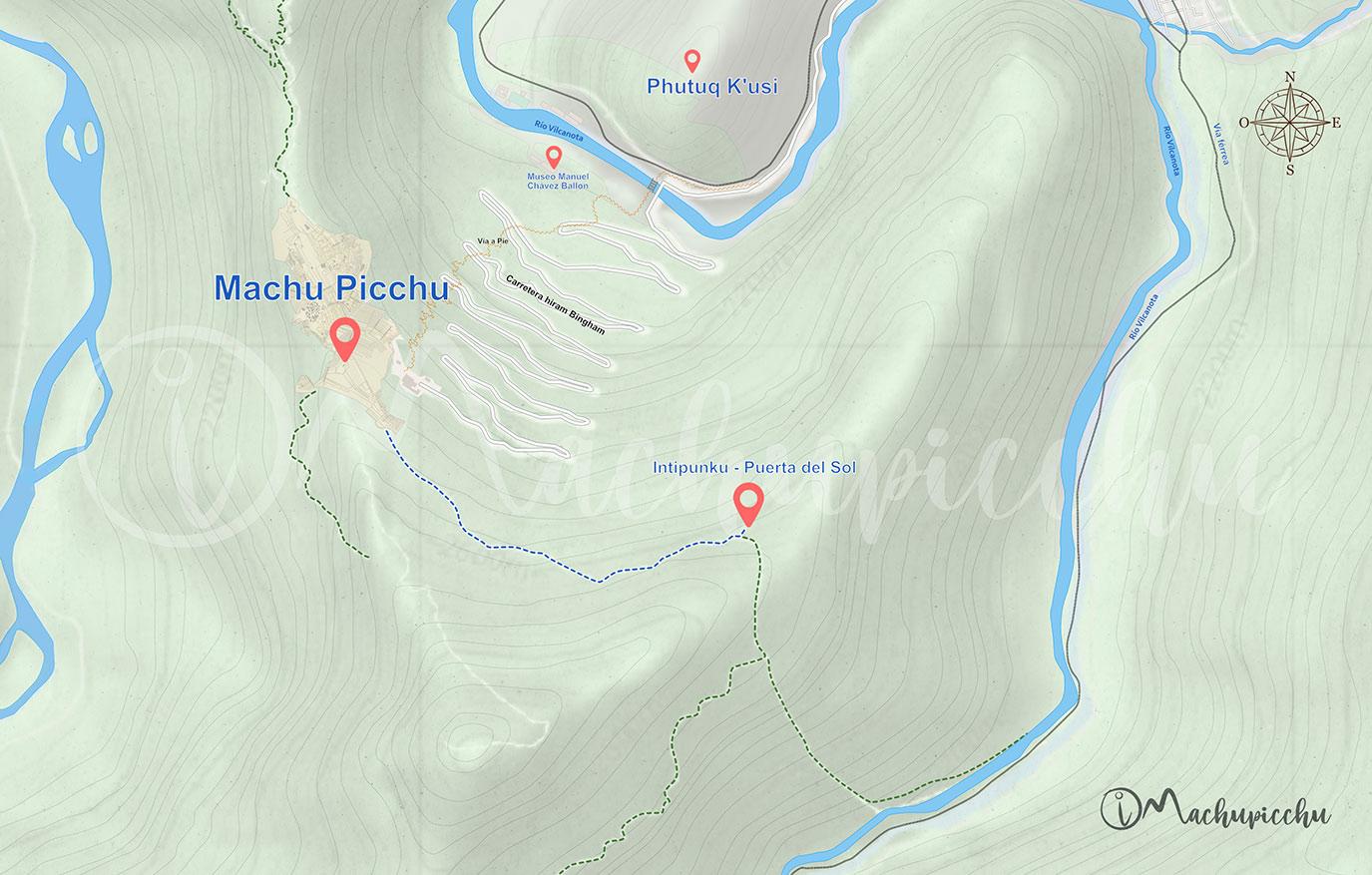 Ruta Intipunku - Machu Picchu
