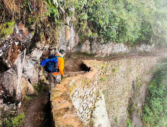Puente inca de Machu Picchu