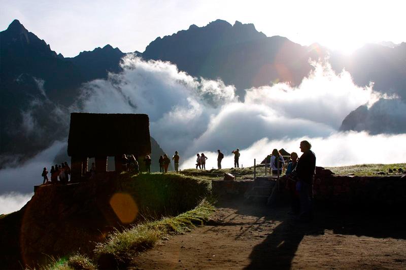Machu Picchu Andenes Watchtower