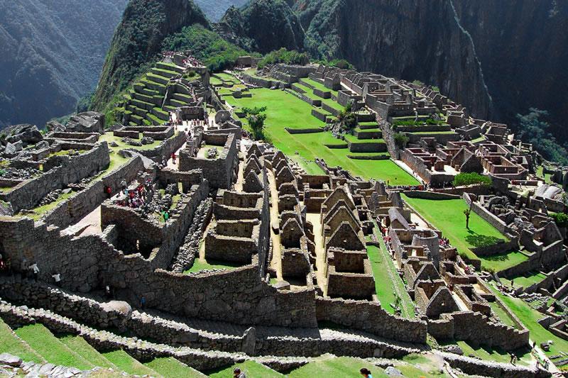 Zona urbana Machu Picchu